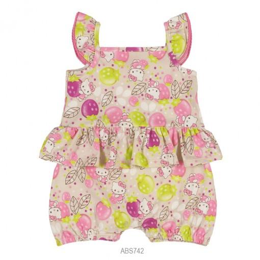 Macaquinho Infantil Bebê Hello Kitty Estampado 0850.87269