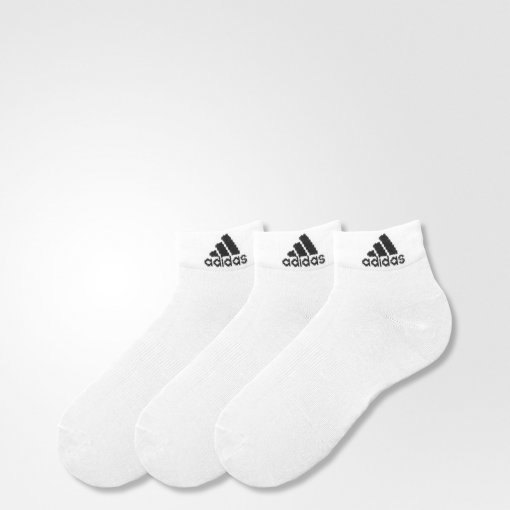 Kit Meias Adidas Ankle Mid Thin 3 Pares Aa2320