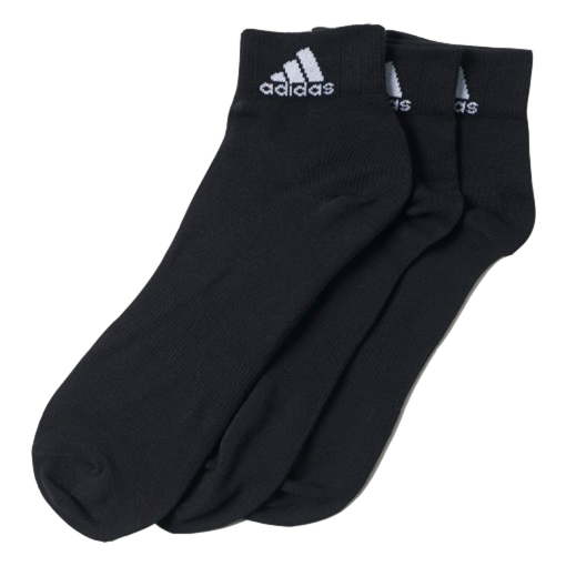 Meia Adidas Ankle Mid Thin Kit C/ 3 Pares Aa2321