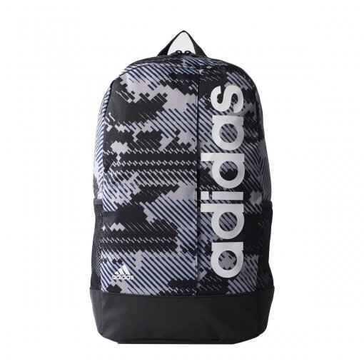 d14f446aedc9e0 Bizz Store - Mochila Adidas Essentials Linear GR Preto/Azul