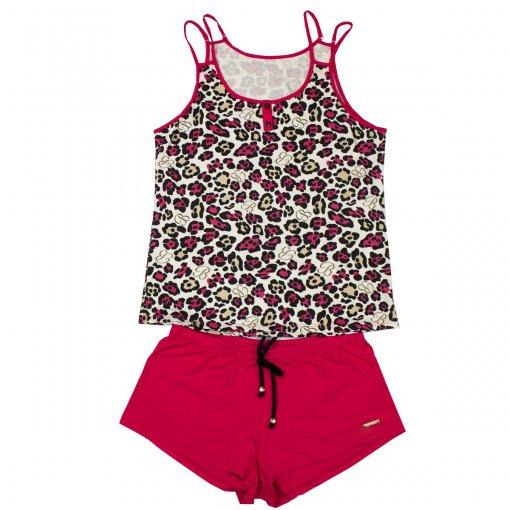 Pijama Babydoll Recco Viscose 08577