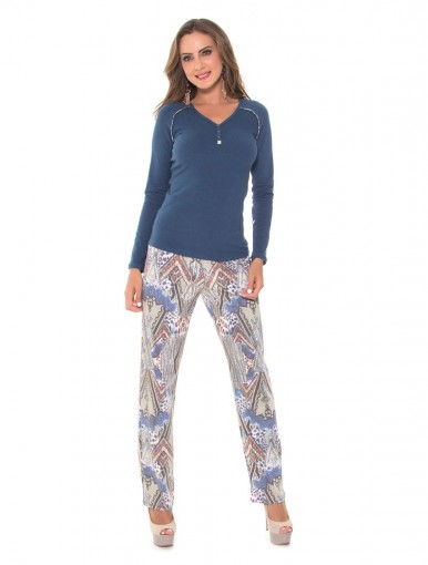 Pijama Feminino Recco Moletinho 09311