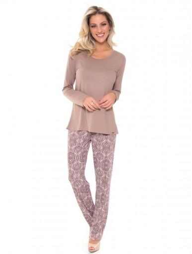 Pijama Feminino Recco Viscose Microfibra 09344