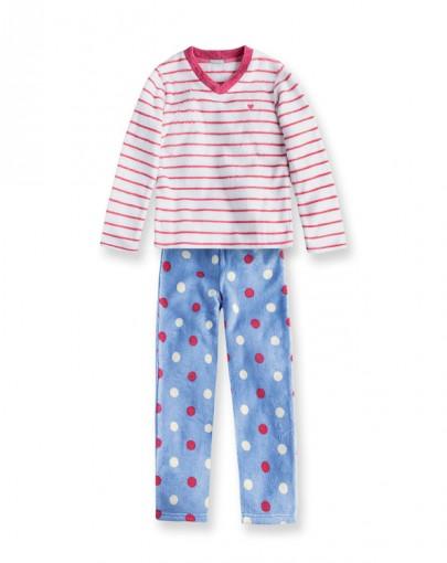 Pijama Infantil Hering Kids Manga Longa Kv3l1dsi