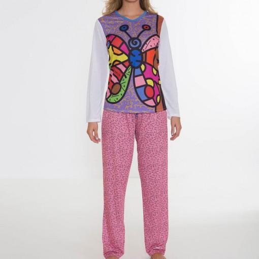 Pijama Infantil Recco Comprido Malha Light 08209