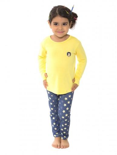 Pijama Infantil Recco Viscose 09136