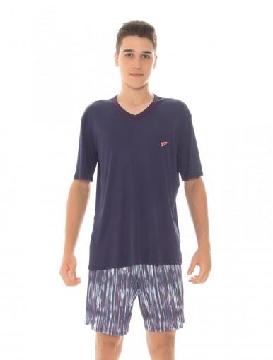 Pijama Juvenil Masculino Recco Modo Avião 09484