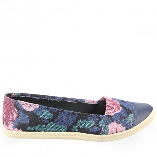 88a9d2103 Bizz Store - Sapatilha Moleca Tecido Floral