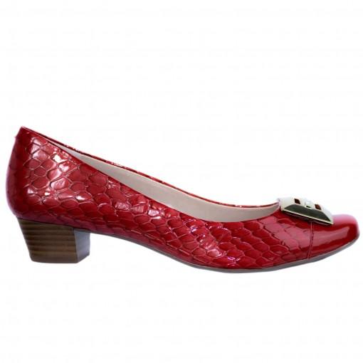 Sapato Feminino Jorge Bischoff Tartaruga Couro J41075014a02