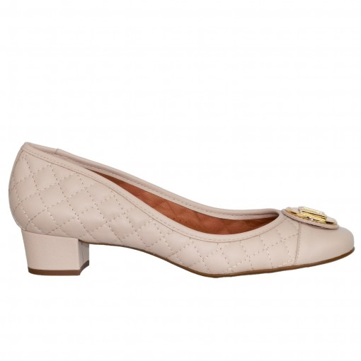 Sapato Feminino Luz da Lua Saara Matelassê S48002