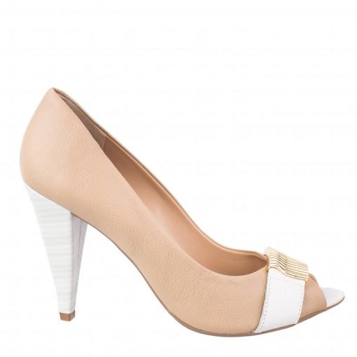 Sapato Peep Toe Loucos e Santos 334-12