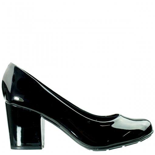 Sapato Feminino Moleca Verniz Nobuck