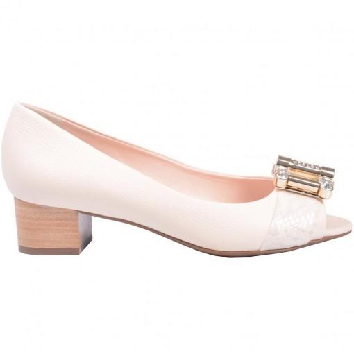 Sapato Peep Toe Jorge Bischoff J21051003a03
