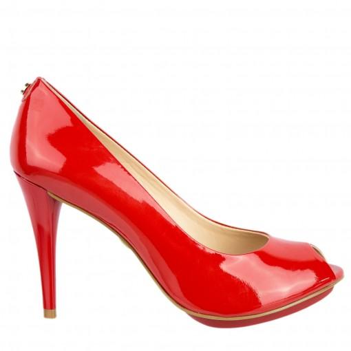 Sapato Peep Toe Jorge Bischoff J300270