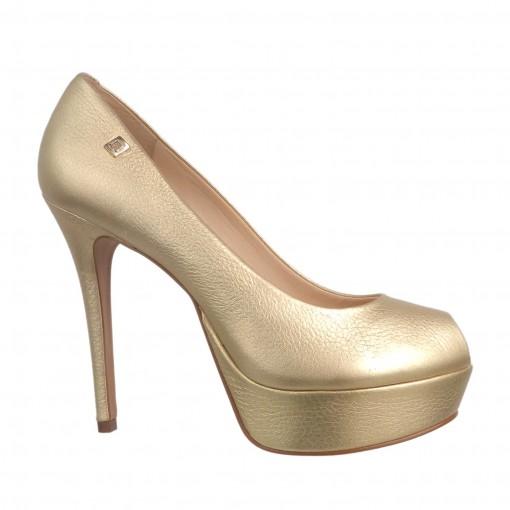 Sapato Peep Toe Loucos e Santos 333-01