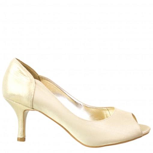 Sapato Peep Toe Século XXX 941-9879