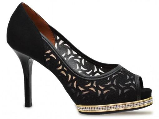 Sapato Peep Toe Vizzano 1827.204