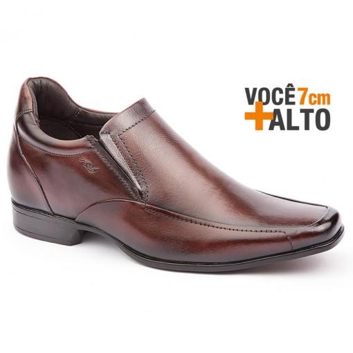 5b58a22e2b Bizz Store - Sapato Social Masculino Rafarillo Alth Você + Alto