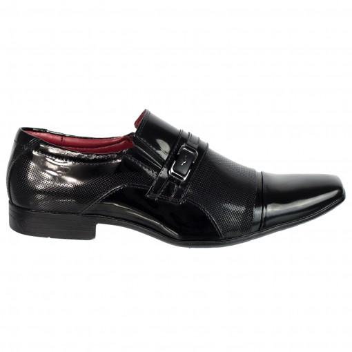Sapato Social Masculino Mariner Box Verniz 21624