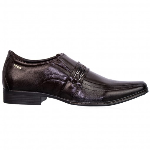 Sapato Social Masculino Pegada Mestiço Couro 21731-01