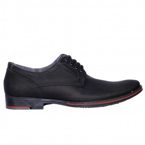 Sapato Social Masculino Pegada Washed Couro 23604-05