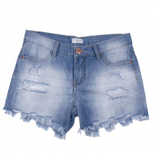 Shorts Jeans Infantil Acostamento Kids 68824100