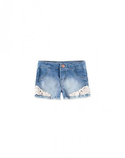Shorts Jeans Infantil Bebê Hering Kids C6rbjeknf