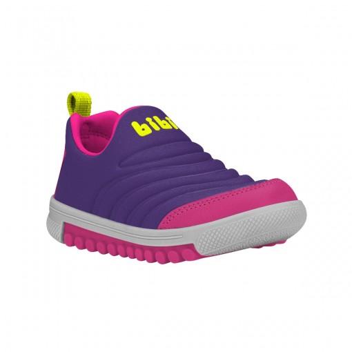 ecf1bd8d9ff Bizz Store - Tênis Infantil Feminino Bibi Roller New Roxo Pink