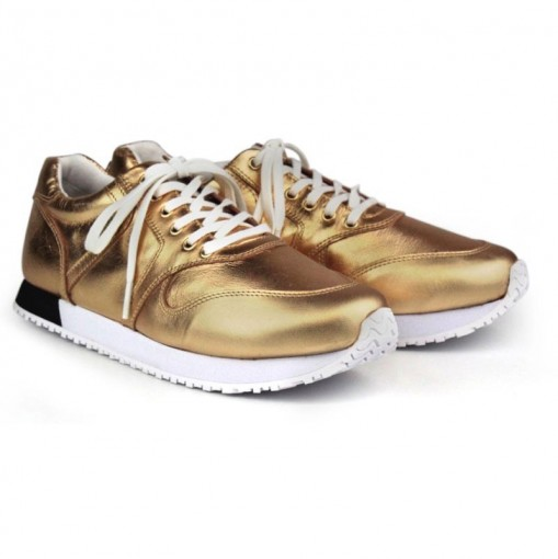 Tênis Feminino Cristófoli Sneaker Metalizado 171491