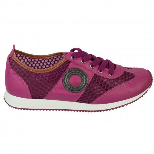 926069403d63b Bizz Store - Tênis Feminino Moleca Tela Sport Marinho/Roxo