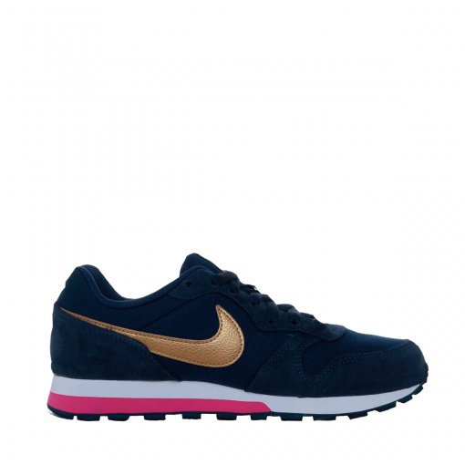 6fb8322a7 Bizz Store - Tênis Feminino Nike MD Runner 2 GS Azul/Rosa