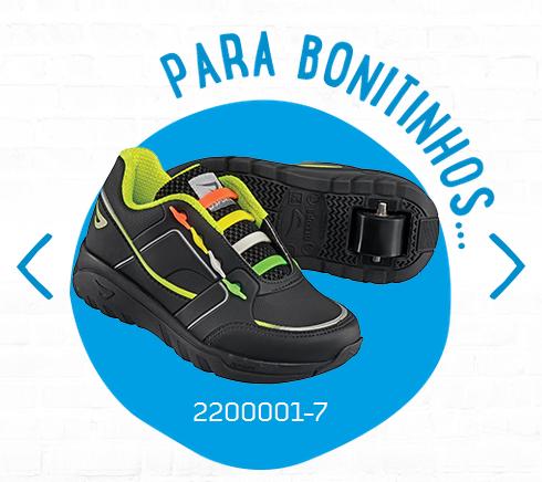 5e95f68b8e Bizz Store - Tênis Infantil Ortopé Estica e Puxa Com Rodinha