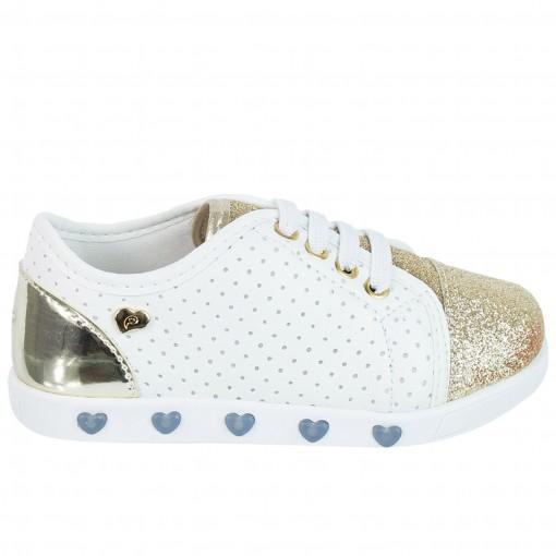 Tênis Infantil Pampili Sneaker Com Luzinha 165.004