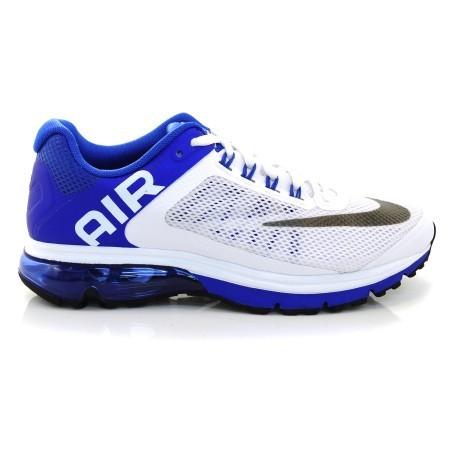 38e0a0e3af1 Tênis Air Max Excellerate Nike 555331-101 - Branco azul