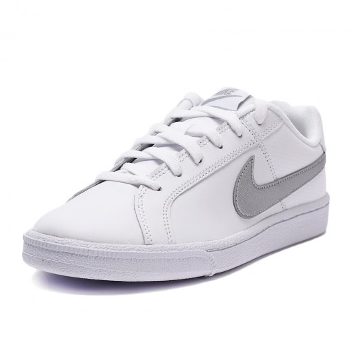 19f1ee6e457 Bizz Store - Tênis Feminino Nike Court Royale Branco Couro