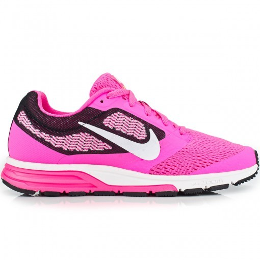012362355a Bizz Store - Tênis Feminino Nike Air Zoom Fly Rosa Para Corrida