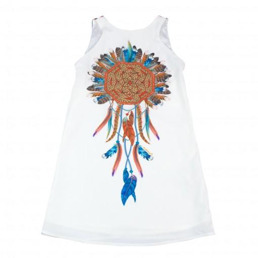 Vestido Infantil Acostamento Fashion 68812019
