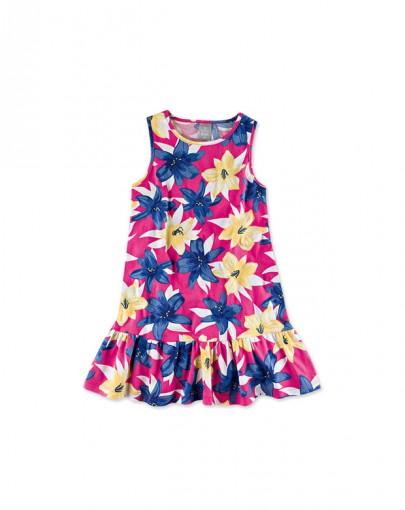 Vestido Infantil Menina Hering Kids 5a3l1e00