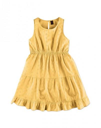 Vestido Infantil Feminino Hering Kids Kvetyrbsi