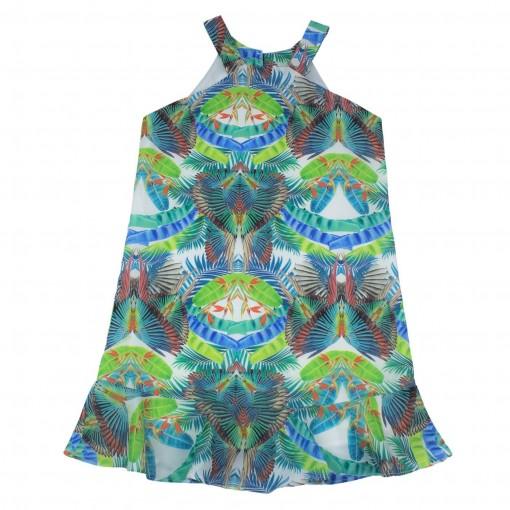 Vestido Infantil Feminino Acostamento Fashion 68812018