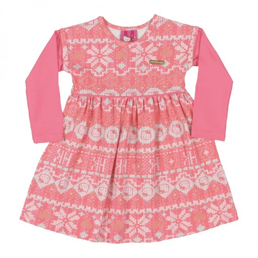 Vestido Infantil Hello Kitty 0501.87115