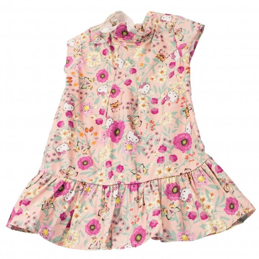 Vestido Infantil Hello Kitty Estampado 0550.87272