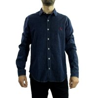 Imagem - Camisa Masculina Reserva Easy Oxford Denim  - 050762