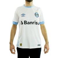 Imagem - Camisa Oficial Masculina Umbro Grêmio 2018 Fan  - 058010