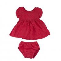 Imagem - Conjunto Infantil Hering Kids Vestido + Calcinha C9fbenkra - 045811