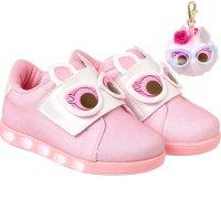 Imagem - Tênis Infantil Pampili Sneaker Dot's Com Luzinha - 057969