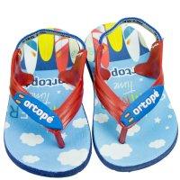 Imagem - Chinelo Infantil Masculino Ortopé Aqua Flex PVC - 058057