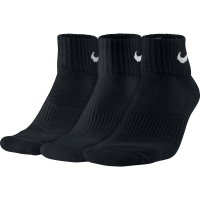 Imagem - Kit 3 Meias Nike Cushion Quarter Sx4703-001  - 047207