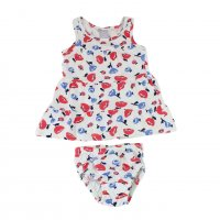 Imagem - Conjunto Infantil Hering Kids Vestido e Calcinha 5a0c1b00  - 046384