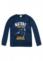 Imagem - Camiseta Infantil Menino Hering Kids Manga Longa 5ch71uen  - 059070